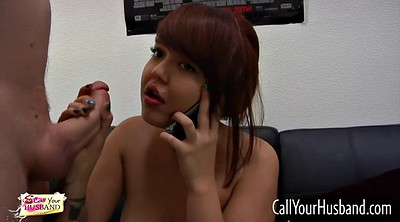 Chinese wife, Phone, Talks, Chinese talk, Chinese b, Asian wife