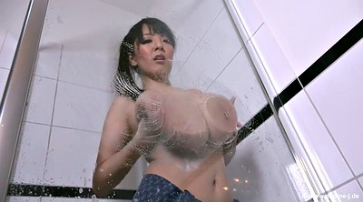 Asian, Japanese big tits, Japanese solo, Japanese shower