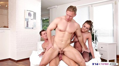 Mmf, Babe, Gay threesome, Threesome mmf, Double pussy