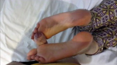 Sandra, Holiday, Teen footjob