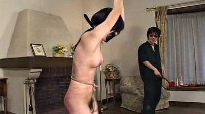 Asian tied, Whipping, Live