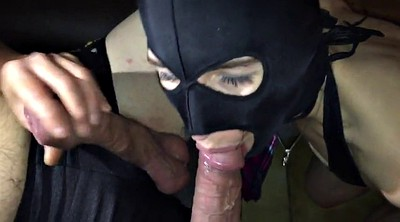 Mask, Interracial wife, Group sex