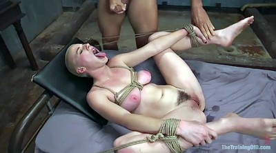Squirting, Tied, Hairy squirt, Brutal