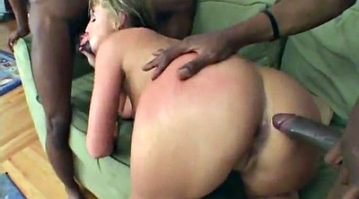 Interracial anal, Flower tucci