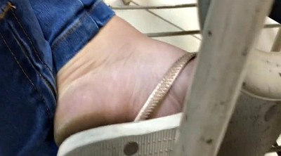 Caught, Dirty feet, College girl
