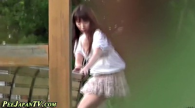 Peeing, Peeing public, Pee public, Outdoor peeing, Japanese sexy, Japanese fetish