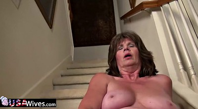 Granny solo, Sex toy horny mature