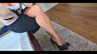 Nylon, Nylon feet, Hot wife, Nylon tease, Feet nylon, Feet tease