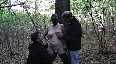 Wife gangbang, Forest
