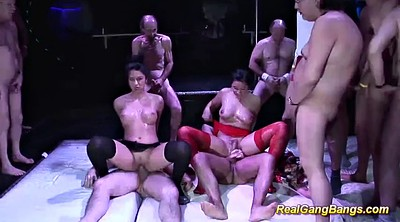 Party anal, German gangbang, Cute