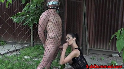 Cage, Bdsm outdoor