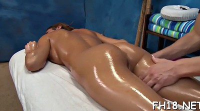 Oil massage, Hot granny