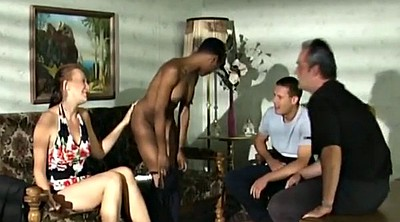 Students, Exchange, Foursome interracial