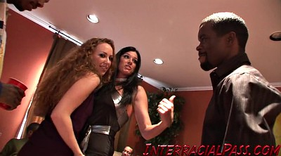 Interracial group, Monster sex, Black group