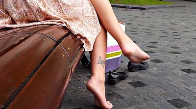 Park, Foot sole, Candid