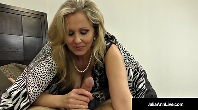 Julia, Sucking big tits, Milf anne