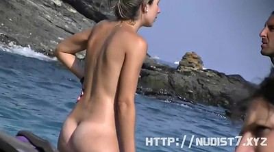 Model, Hidden beach, Hidden cam