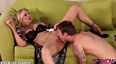 Julia ann, Anne, Caught, Step daughter, Julia ann milf, Voyeur house