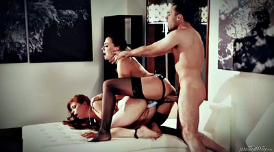 Spanked, Chanel preston, Strapon, Femdom strapon, Face sitting, Penny pax