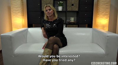 Mature blowjob, Oiled, Interview