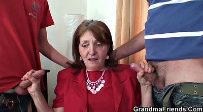 Mature granny, Young wife