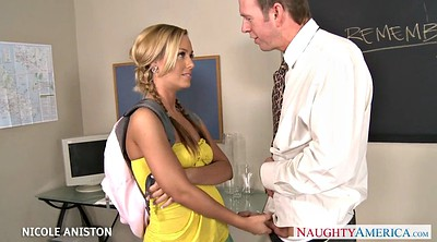 Nicole aniston, Blonde, Pigtails