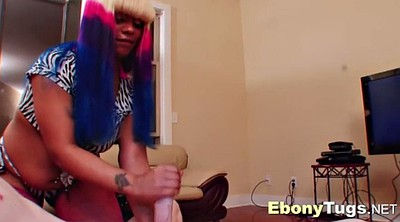 Massage, Rubbing, Handjobs, Color, Black girls, Black big