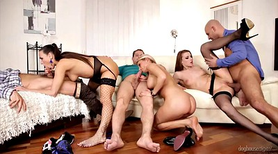 Group anal, Anal orgy