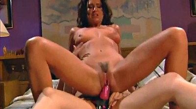 Lesbian strapon, Piercing, Strap on, Long dildo