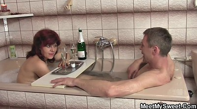 Old, Threesomes, Old mature couple