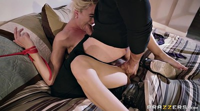 Tied, Burglar, Blonde big tits