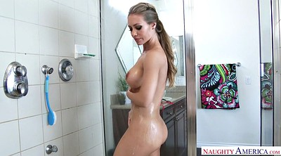 Shower, Big tits solo, Nicole aniston