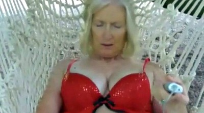 Clit, Swing, Big clit, Hairy granny, Swings, Mature hairy