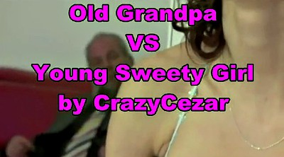 Grandpa, Old vs young, Granny small tits, Granny ass