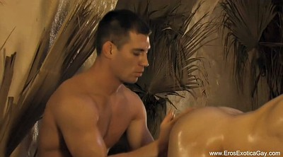 Oiled anal, Massage gay