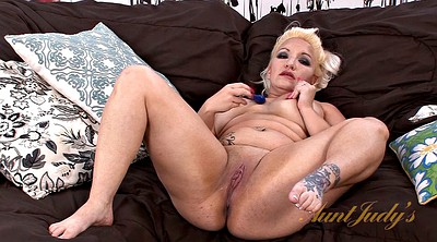 Tube, Solo toy, Fingered, Chubby blonde