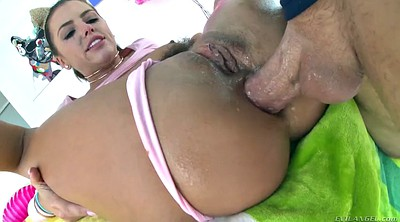 Hairy anal, Anal squirt