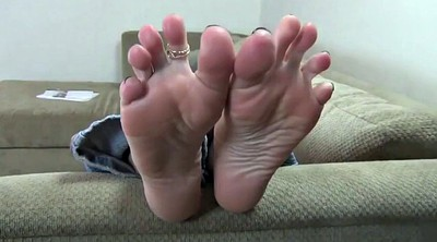 Feet, Foot fetish, Mature soles