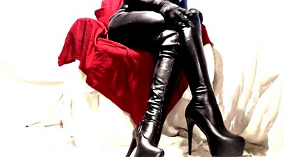 Boots, Leather, Leather boot