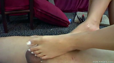 Asian femdom, Feet lick, Asian feet lick, Femdom asian, Chair, Petite asian