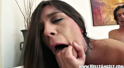 Cum swallow, Deep throat swallow