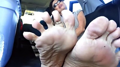 Mature foot, Sole