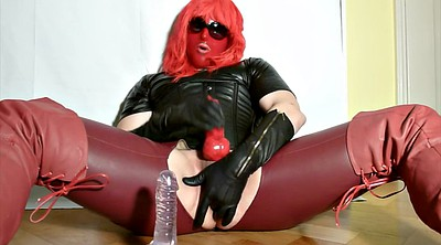 Leather, G queen, Latex fetish, Jerk