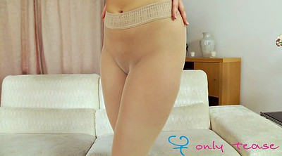 Long, Pantyhose tease