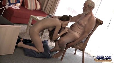 Grandpa, Grannies, Mature swallow, Grandpa fuck