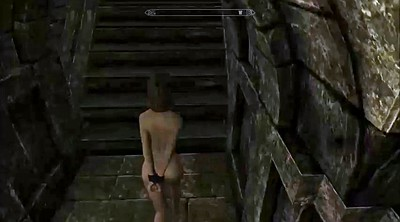Cartoon, Skyrim, Bondage gangbang