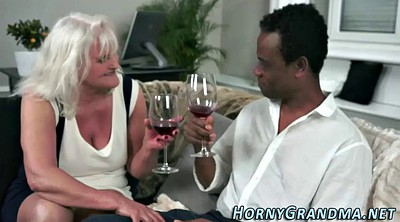 Granny interracial, Mature interracial