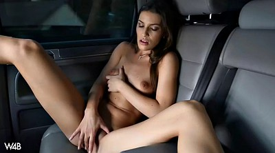Czech, Sex in car, Pee piss, Car masturbation