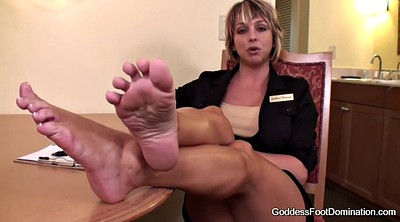 Foot job, Interview, Milf foot, Castings