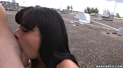 Luna star, Clothed, Latina deepthroat, Cloth